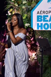 Justine Skye at Aero x Repreve Eco Friendly Collection with Performance by Justine Skye 2019/04/26 7