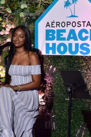 Justine Skye at Aero x Repreve Eco Friendly Collection with Performance by Justine Skye 2019/04/26 8