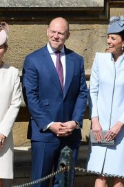 Kate Middleton at Easter Sunday Church Service at St George's Chapel in Windsor 2019/04/21 2