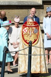 Kate Middleton at Easter Sunday Church Service at St George's Chapel in Windsor 2019/04/21 3