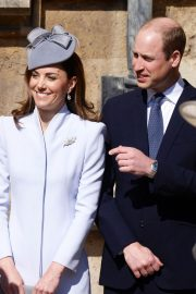 Kate Middleton at Easter Sunday Church Service at St George's Chapel in Windsor 2019/04/21 6