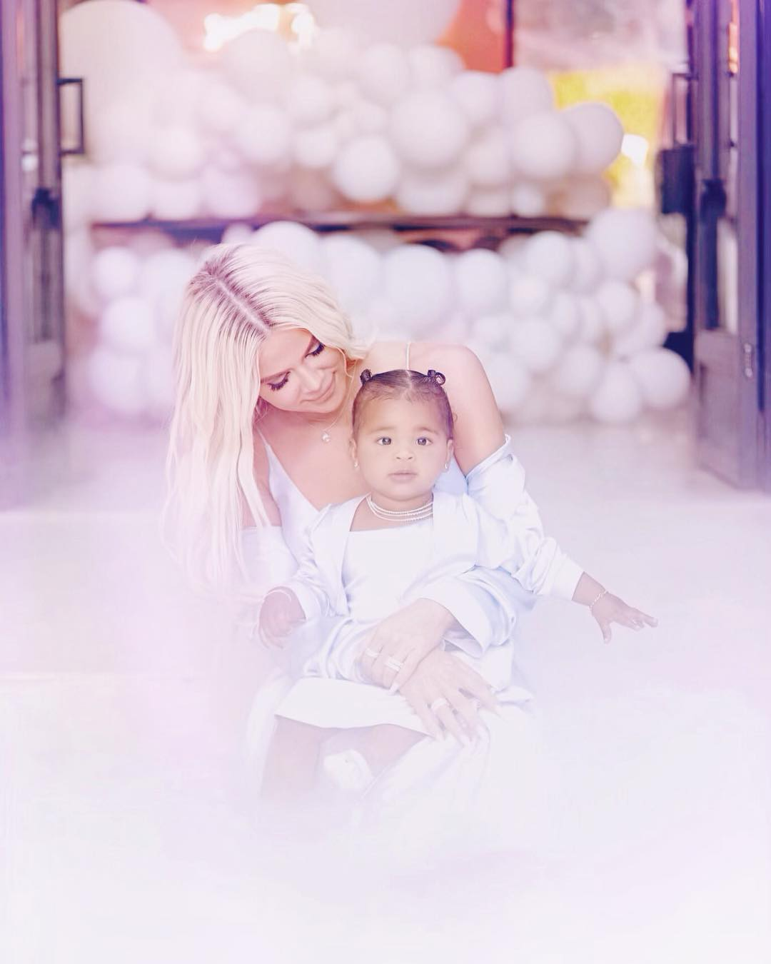 Khloe Kardashian's Daughter True Thompson First Birthday Party Photos 3