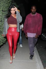 Kim Kardashian and Kanye West Leaves Travis Scott's Birthday Party in Thousand Oaks 2019/04/25 3