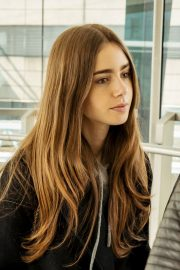 Lily Collins at Heathrow Airport in London 2019/04/24 6