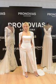 Lottie Moss at Pronovias Event at Barcelona Bridal Week 2019/04/25 6