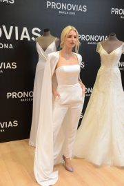 Lottie Moss at Pronovias Event at Barcelona Bridal Week 2019/04/25 9