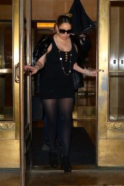MARIAH CAREY Out in New York 2019/04/20 2