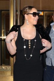 MARIAH CAREY Out in New York 2019/04/20 10