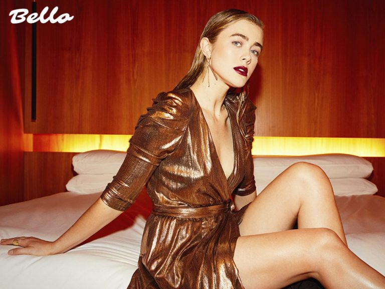 Melissa Roxburgh in Hello Magazine, April 2019 1