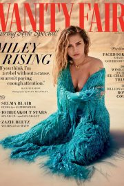 Miley Cyrus in Vanity Fair Magazine, March 2019 Issue 7