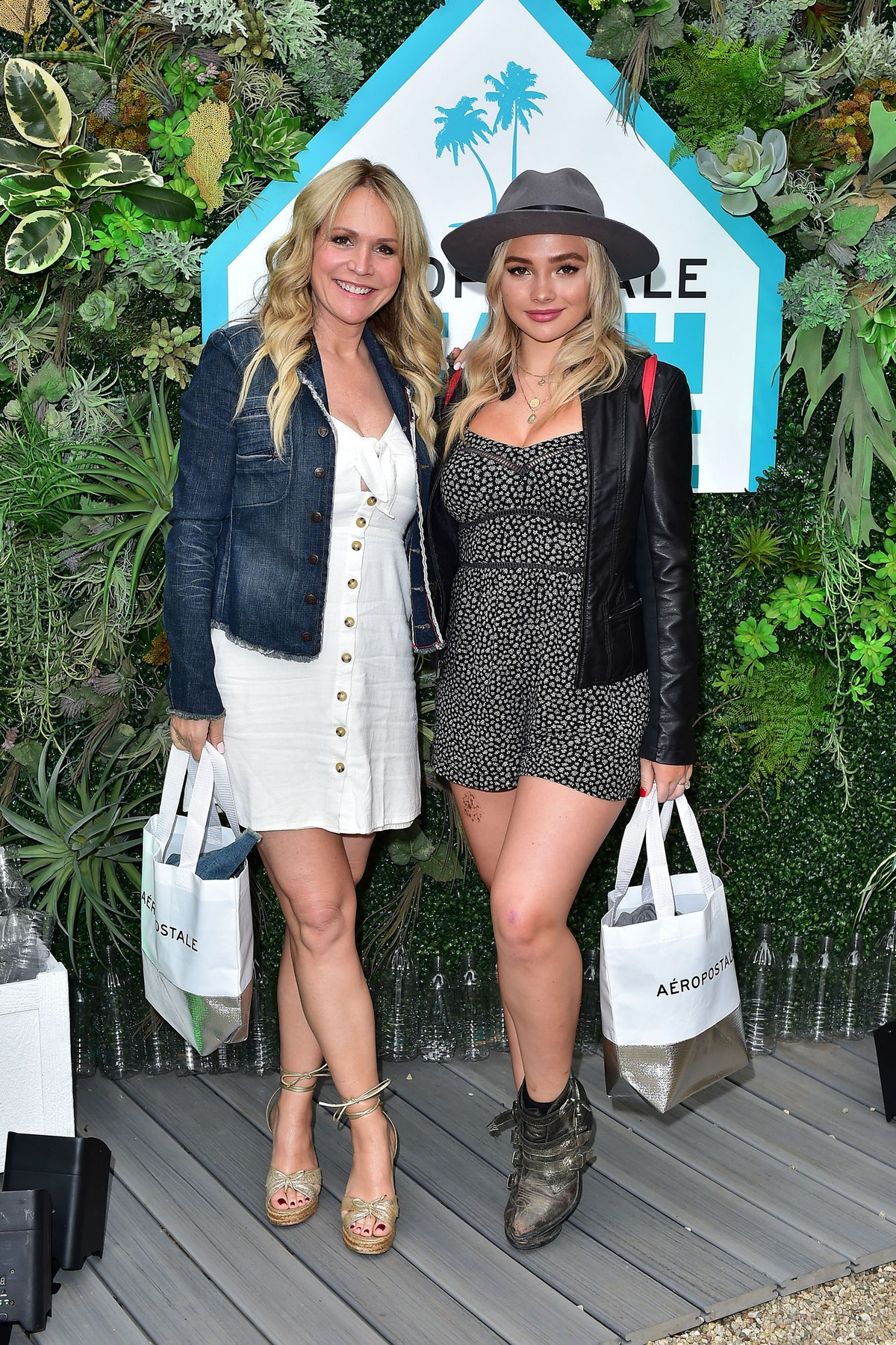 Natalie Alyn Lind at Aero x Repreve Eco Friendly Collection with Performance in Malibu 2019/04/26 1