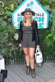 Natalie Alyn Lind at Aero x Repreve Eco Friendly Collection with Performance in Malibu 2019/04/26 3