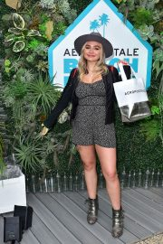 Natalie Alyn Lind at Aero x Repreve Eco Friendly Collection with Performance in Malibu 2019/04/26 4