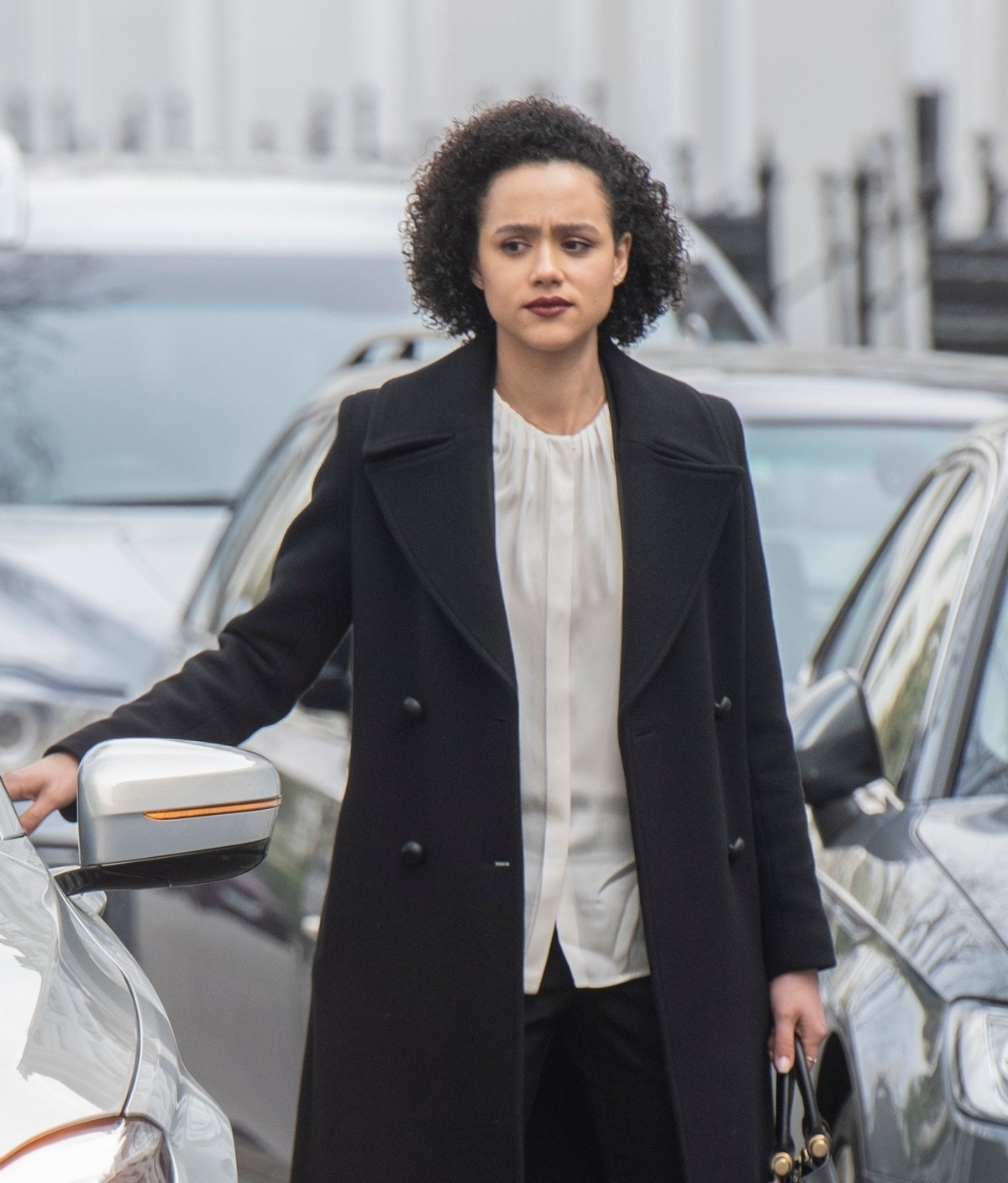 Nathalie Emmanuel at Four Weddings and a funeral TV show in West London 2019/04/23 1