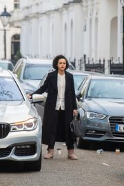 Nathalie Emmanuel at Four Weddings and a funeral TV show in West London 2019/04/23 3