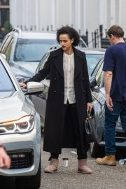 Nathalie Emmanuel at Four Weddings and a funeral TV show in West London 2019/04/23 5