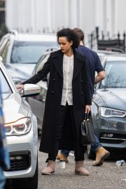 Nathalie Emmanuel at Four Weddings and a funeral TV show in West London 2019/04/23 6
