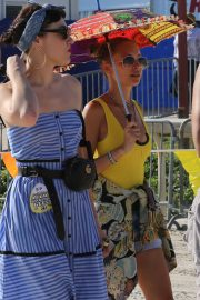 Nicole Richie at the New Orleans Jazz and Heritage Festival 2019/04/27 9
