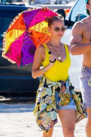 Nicole Richie at the New Orleans Jazz and Heritage Festival 2019/04/27 10
