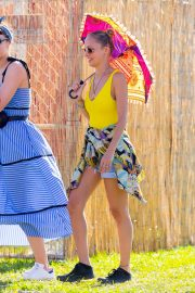 Nicole Richie at the New Orleans Jazz and Heritage Festival 2019/04/27 13
