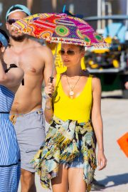 Nicole Richie at the New Orleans Jazz and Heritage Festival 2019/04/27 16