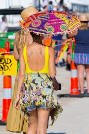 Nicole Richie at the New Orleans Jazz and Heritage Festival 2019/04/27 17