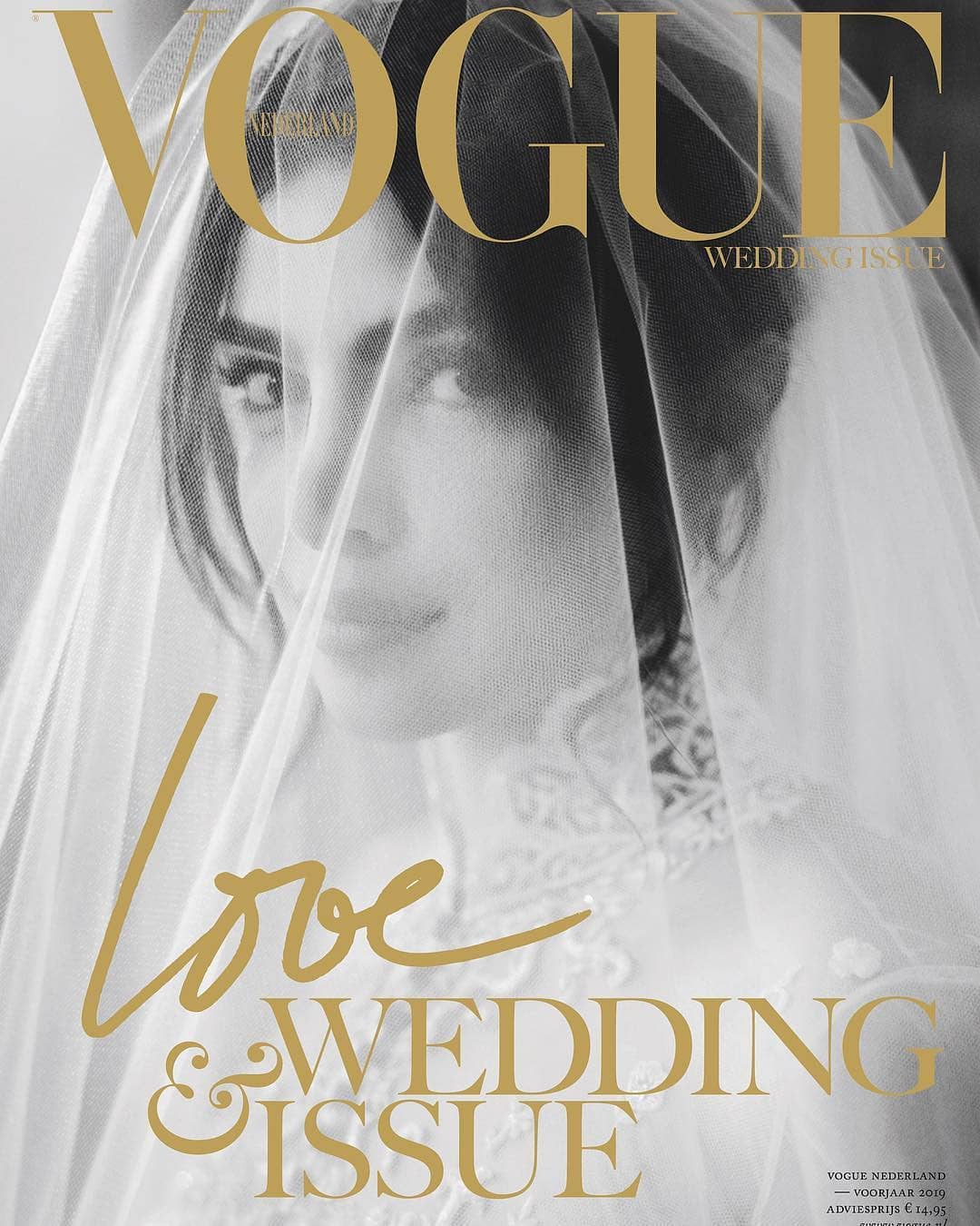 Priyanka Chopra On The Cover Page Of Vogue Netherlands 1