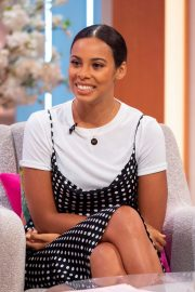 Rochelle Humes at Lorraine Show in London 2019/04/24 1