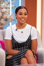 Rochelle Humes at Lorraine Show in London 2019/04/24 2