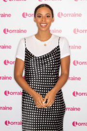 Rochelle Humes at Lorraine Show in London 2019/04/24 4