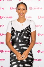 Rochelle Humes at Lorraine Show in London 2019/04/24 6