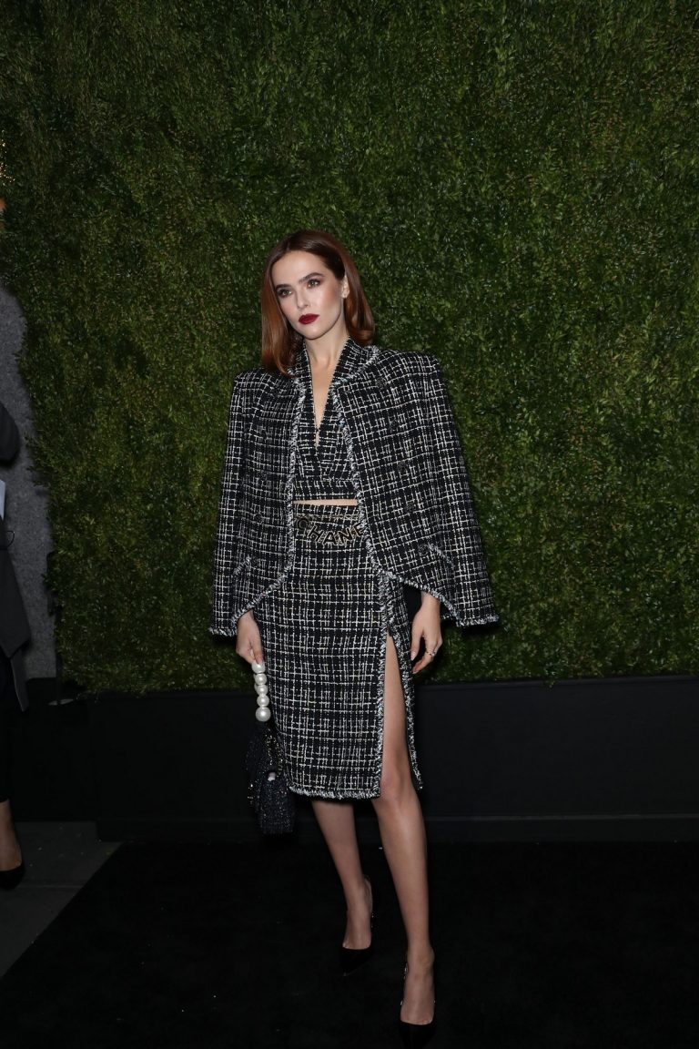 Zoey Deutch at 14th Annual Tribeca Film Festival in New York 2019/04/29 1