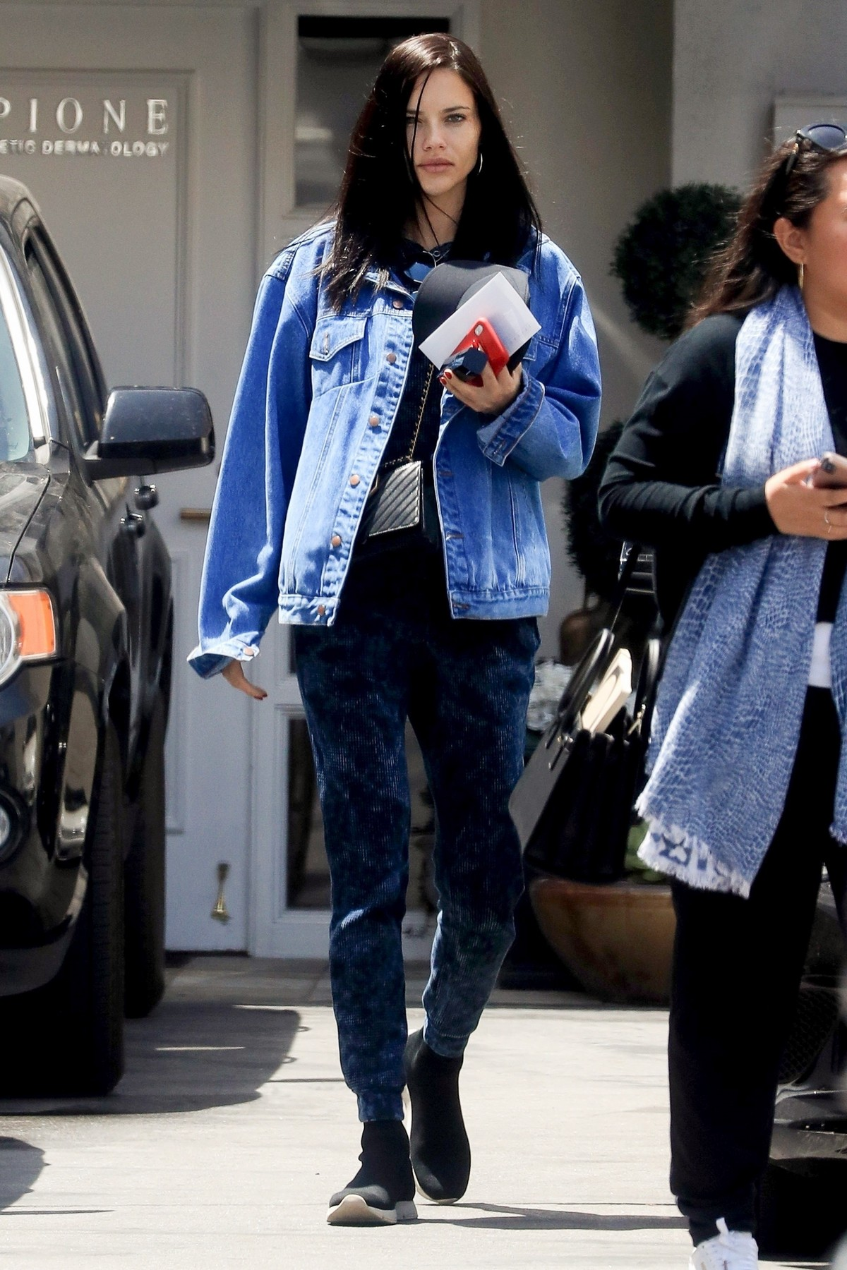 Adriana Lima at A dermatologist in Beverly Hills 2019/05/012019 2