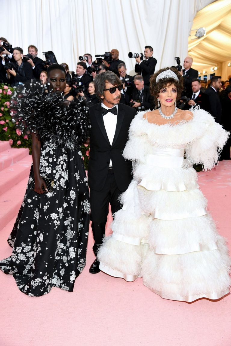 Adut Akech Bior at The 2019 Met Gala Celebrating Camp: Notes on Fashion New York 2019/05/06 1
