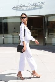 Alessandra Ambrosio in white outfit during 72nd Cannes Film Festival in Cannes 2019/05/14 11