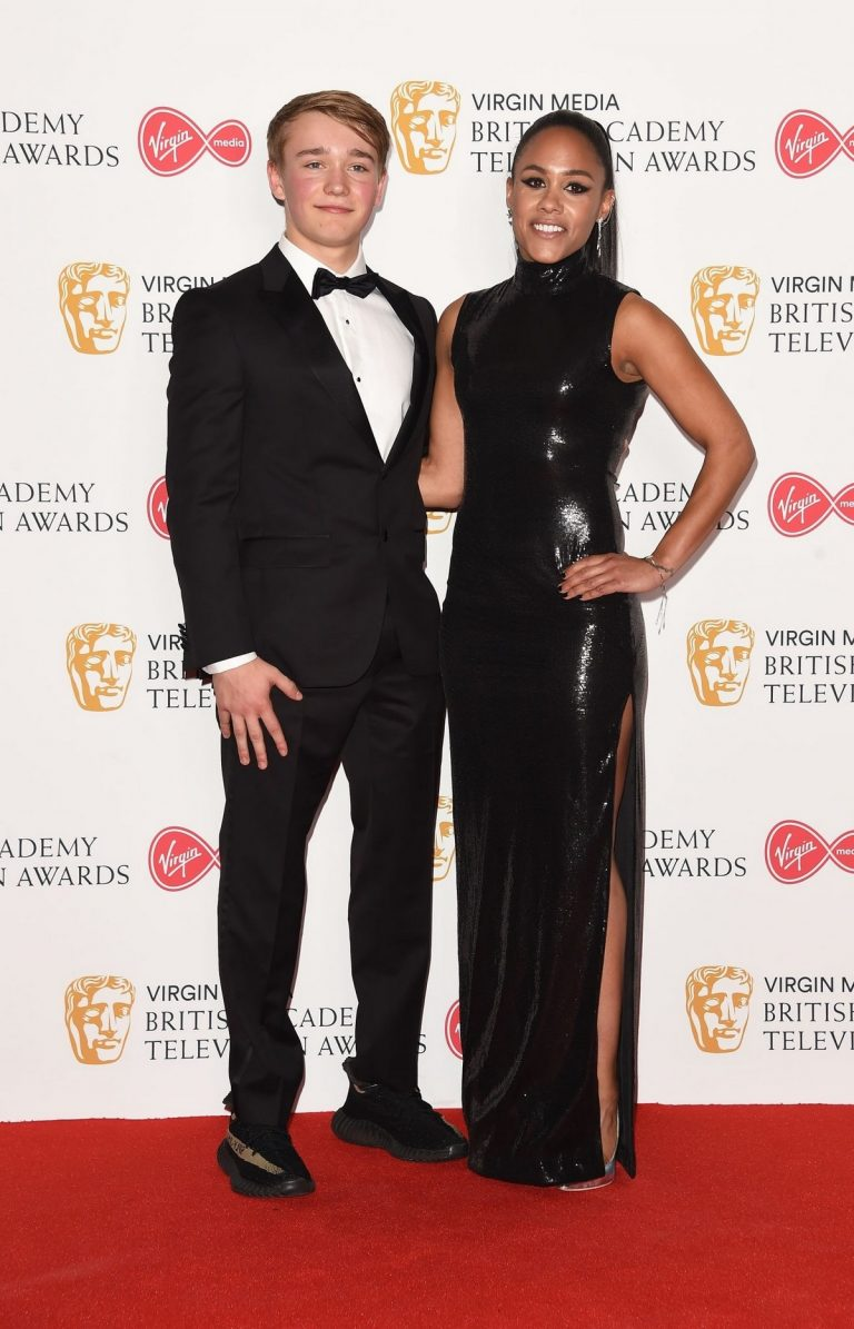 Alex Scott and Billy Monger at 2019 BAFTA Awards at Royal Festival Hall 2019/05/12 1