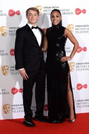 Alex Scott and Billy Monger at 2019 BAFTA Awards at Royal Festival Hall 2019/05/12 2