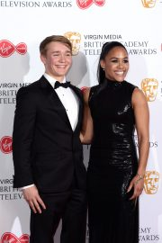 Alex Scott and Billy Monger at 2019 BAFTA Awards at Royal Festival Hall 2019/05/12 3