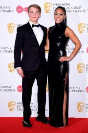 Alex Scott and Billy Monger at 2019 BAFTA Awards at Royal Festival Hall 2019/05/12 5