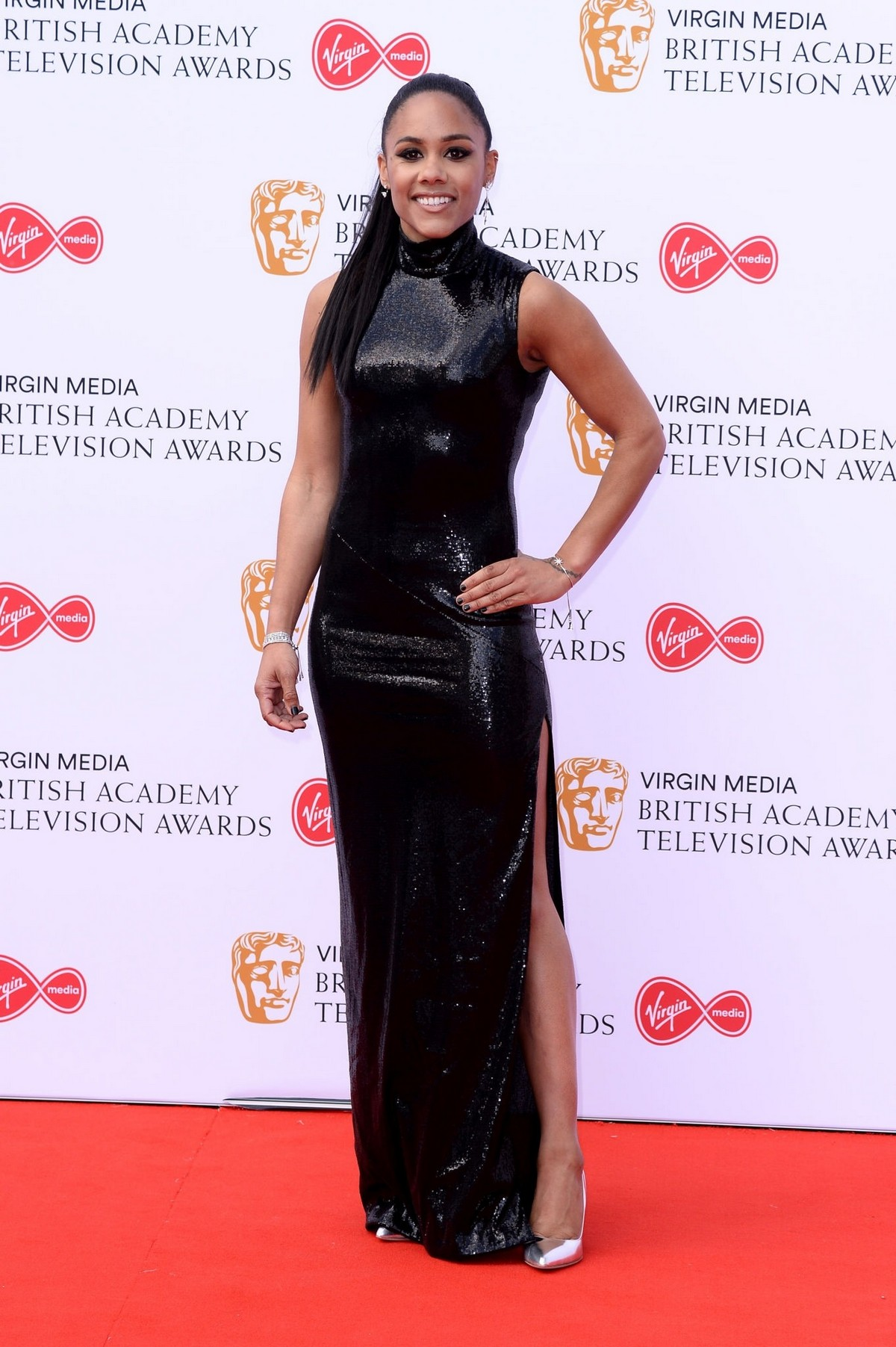 Alex Scott at 2019 BAFTA Awards at Royal Festival Hall 2019/05/12 12