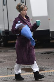 "Alice Eve on The Set for ITV Series ""Belgravia"" in London 2019/05/09 8"