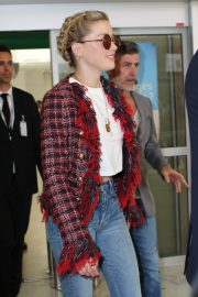 Amber Heard Arrives at Nice Airport of the 72nd Annual Cannes Film Festival 2019/05/13 3