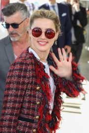 Amber Heard Arrives at Nice Airport of the 72nd Annual Cannes Film Festival 2019/05/13 5