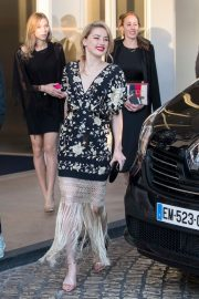 Amber Heard at the Martinez Hotel at 72nd Cannes Film Festival 2019/05/16 1