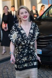Amber Heard at the Martinez Hotel at 72nd Cannes Film Festival 2019/05/16 2