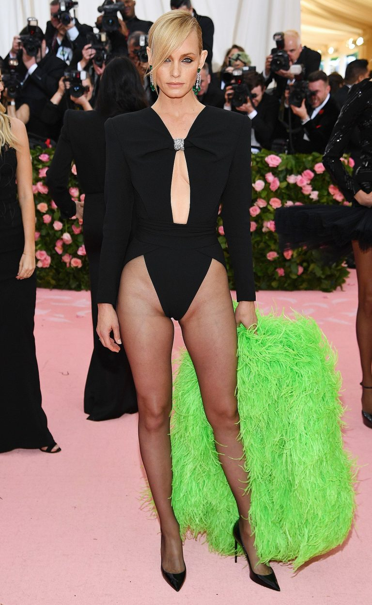 Amber Valletta at The 2019 Met Gala Celebrating Camp: Notes on Fashion in New York 2019/05/06 2