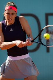 Andrea Petkovic Plays Mutua Madrid Open Tennis Tournament in Madrid 2019/05/04 3