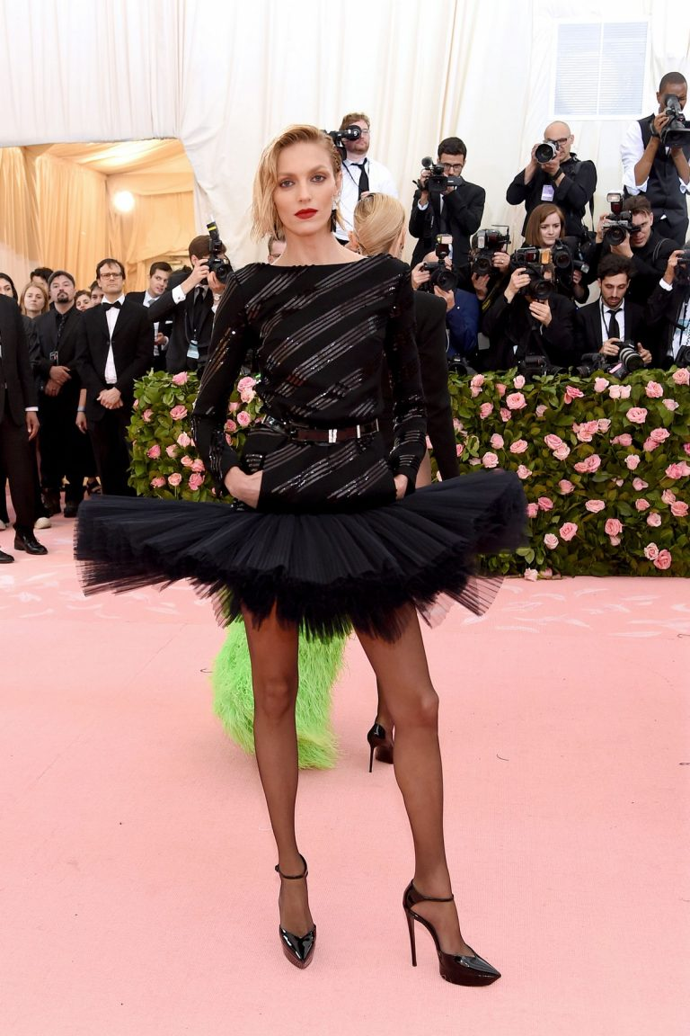 Anja Rubik at 2019 Met Gala in New York City 2019/05/06 1