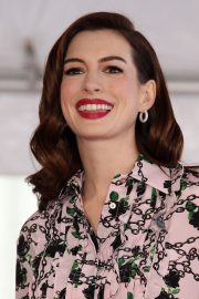 Anne Hathaway at Star Ceremony on The Hollywood Walk Of Fame in Hollywood 2019/05/09 2