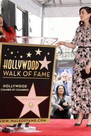 Anne Hathaway at Star Ceremony on The Hollywood Walk Of Fame in Hollywood 2019/05/09 9